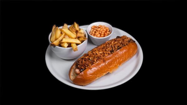 Pole hot dog